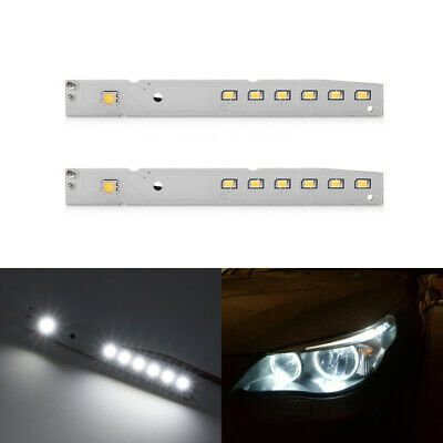LED Eyelid Eyebrow Module Lamp For BMW E60 LCI 5 Series 528i 535i 550i M5 White