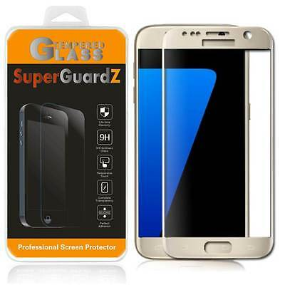 SuperGuardZ® Tempered Glass Screen Protector Shield Cover For Samsung Galaxy S7