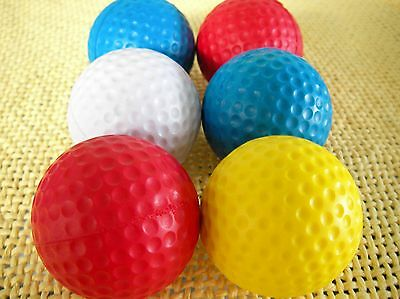 Practice Golf Ball~TOMMY ARMOUR~FOAM BALL~Almost Golf LIMITED FLIGHT~Trial PakUS