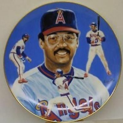 Reggie Jackson Limited Edition Hackett American Collectors Plate