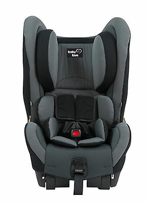 NEW Babylove EZY SWITCH EP Car seat GREY Baby booster safety outing 0 to 4 years