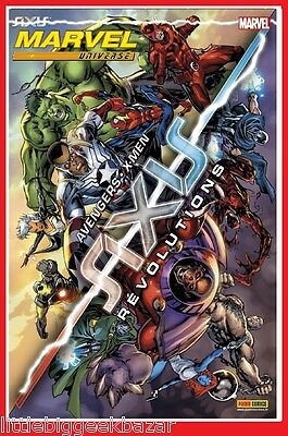 MARVEL UNIVERSE 12 Aout 2015 AXIS AVENGERS X-MEN Gardiens Galaxie Marvel #NEUF