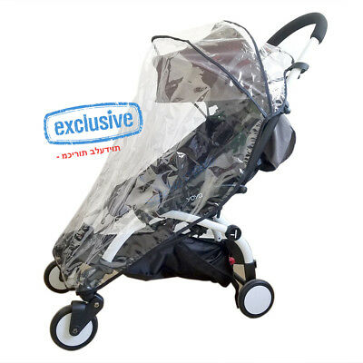 Weather Shield, Rain Cover, Clear Netting for Babyzen YOYO Stroller