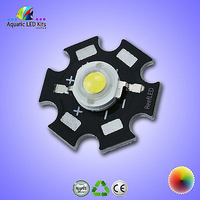1,5,10 3W High Power LED chip bead PCB-Grow lights, Aquarium, Diy Full Spectrum