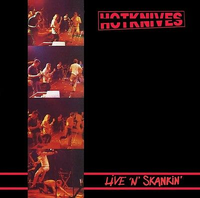 THE HOTKNIVES LIVE`N`SKANKIN LP + bonus 12 (black wax)