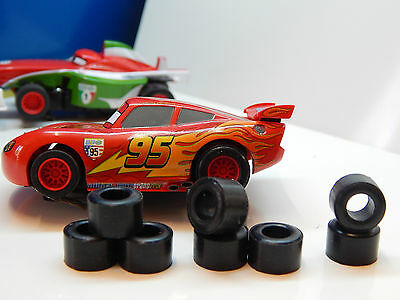 8  rear tires for MICRO SCALEXTRIC HORNBY HO - UK
