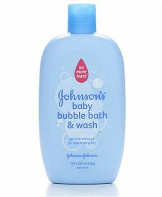 JOHNSON'S Baby Bubble Bath - Wash 15 oz (Pack of 2)