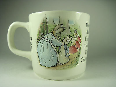 Peter Rabbit Cup by Wedgwood Excellent Condition