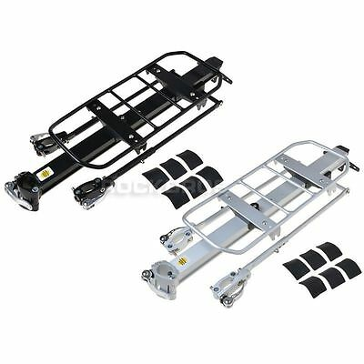 Rockbros Bike Rear Rack Carry Carrier Seatpost Quick Release Max 25KG