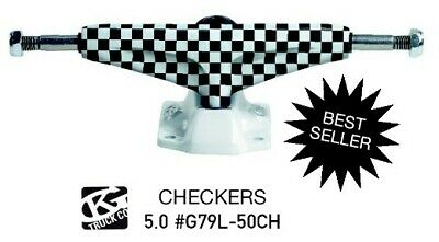 Grindking Skateboardachse 5.0 low check blk/w