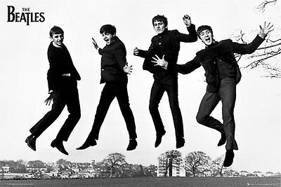 The Beatles Jump 91.5 X 61Cm Poster New Official Merchandise