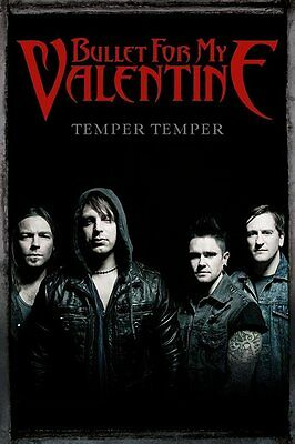 Bullet For My Valentine Group 91.5 X 61Cm Maxi Poster New Official Merchandise