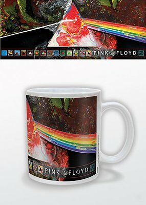 Pink Floyd Dsotm 40Th Mug New Gift Boxed 100 % Official Merchandise