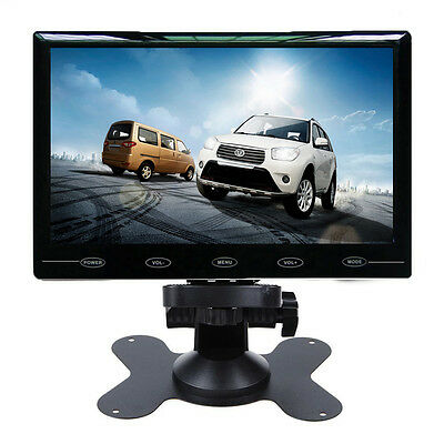"""HD 7"""" Ultra Thin 800*480 TFT LCD Color 2-CH Input Car Rear View Headrest Monitor"""