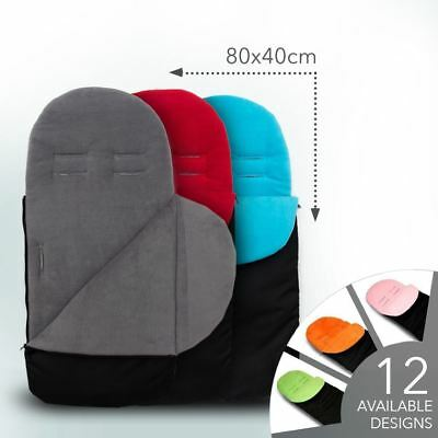 Universal Pushchair Fleece Footmuff Cosy Toes Fit All Buggy & Car Seat Maxi Cosi