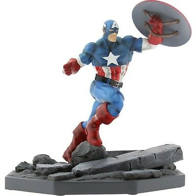 BAIT x Marvel Captain America Statue By MINDstyle (blue)