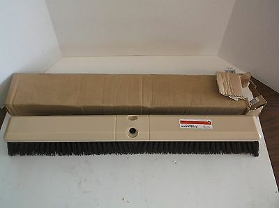 NEW 1A847 Push Broom, Maroon Synthetic, Garage (T)