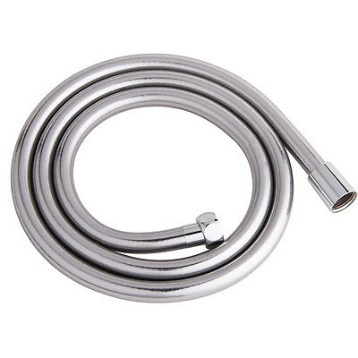 Smooth PVC 1.5m Long Flexible Shower Hose Brass Connectors