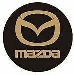 Leather Key Fob Mazda