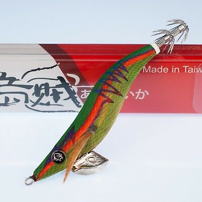 Rui Squid Jig Gs11 Size 3 Red Belly