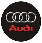 Leather Key Fob Audi