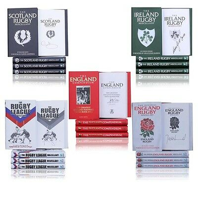 Ultimate books of trivia -5 individually signed sporting books - wholesale offer