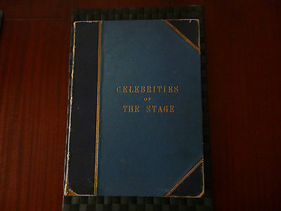 Celebrities Of The Stage Book Boyle Lawrence,george Newnes (Please Read)
