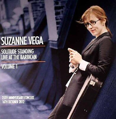 "SUZANNE VEGA Live At The Barbican Vol 1 12"" LIMITED EDITION CLEAR VINYL 2LP"