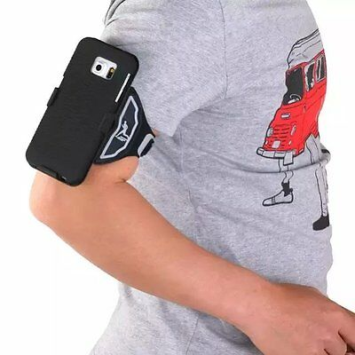 For Samsung Galaxy S4/S5/S6 Skid-proof Armband Sports Running Case Jogging Cover