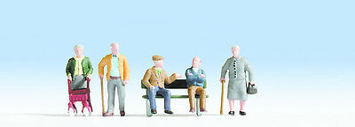 NOCH 45551 TT Figurines 1:120 Seniors new original packaging