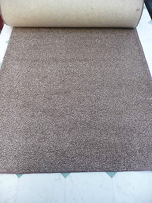 157	x	28.00	inches	(	4m	x	71	cm)  BROWN RUNNER THICK PILE BLEACH CLEAN #1530