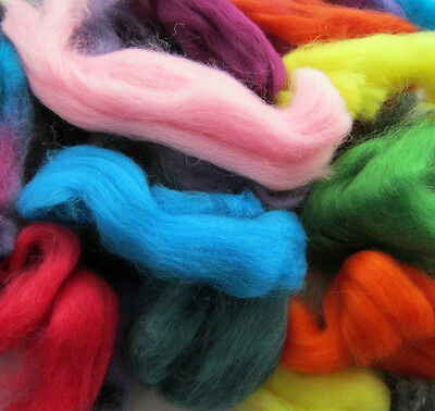 WOOL OFF CUTS. WASTE WOOL TOPS. MERINO. BRITISH. NATURAL. FELTING WOOL. 100g BAG