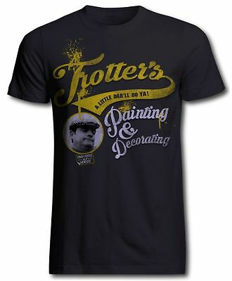 Only Fools and Horses Trotters Painting and Decorating Official T Shirt