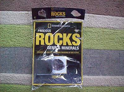 National Geographic Precious Rocks Gems & Minerals Magazine 56 Tektite