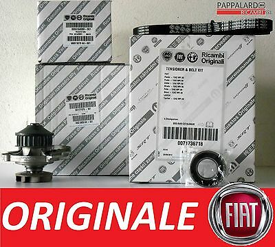 KIT DISTRIBUZIONE + POMPA ACQUA ORIGINALE FIAT PANDA (169) 1.2 Natural Power