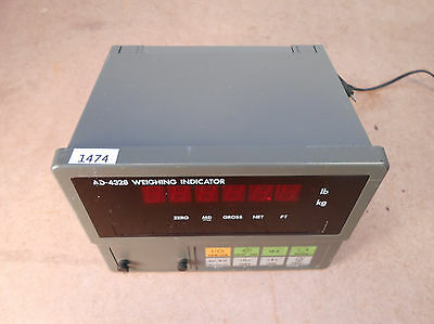A&D AD-4328 Weighing Indicator Digital Scale Indicator (1474)