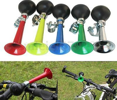 Road Bicycle Bike Cycling Retro Metal Air Horn Hooter Bell Bugle Rubber Squeeze