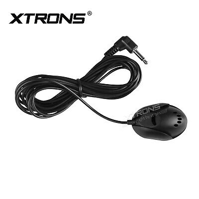 XTRONS 3.5mm External Microphone for Dash Bluetooth Car DVD Player Head Unit