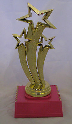 Dance Theme Star Trophy 165mm  Engraved FREE