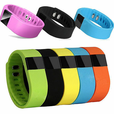 Bluetooth Wristband Bracelet Smart Watch Tracker Activity Step & Sleep Pedometer