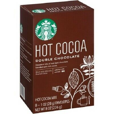 Starbucks Hot Cocoa Mix Double Chocolate