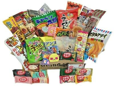 30 Japanese candy Box DAGASHI OCTOBER Japanese food sweet snack halloween KitKat