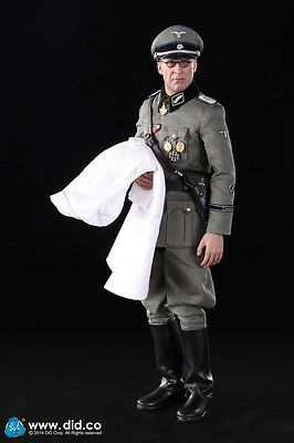 """1/6 DID Scale 12"""" 80100 WWII German Waffen Operation Medic Peter D80100"""
