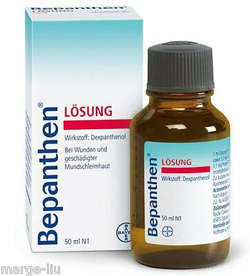BEPANTHEN LIQUID SOLUTION BEPANTOL LIQUIDO HAIR GROWTH 50ML Bepanthol