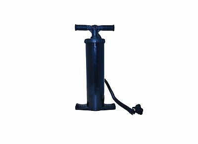 Royal 2L Double Action Hand Pump With Adaptors Camping Mattress Tent Air Bed Toy