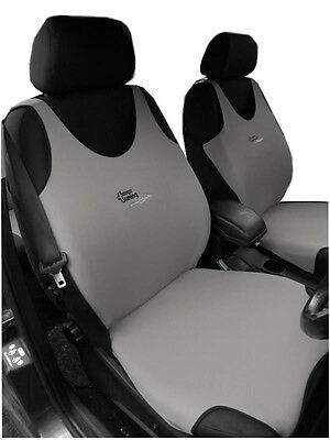 2 BLACK FRONT VEST CAR SEAT COVERS PROTECTORS FOR BMW 5 SERIES