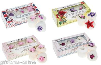 Rose & Co Patisserie de Bain Bath Fancies 3pk Gift Set - Many Variety of Scents