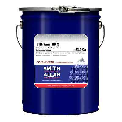 Lithium EP2 Grease General Multi Purpose Heat Resistant 12.5KG Keg