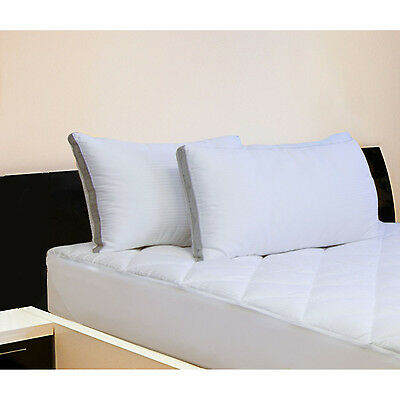 Bed Pillow 2-Pk King Size Hotel Reserve Collection Bedroom Sleep 20 x 36 New