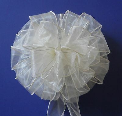 Wedding Pew Bows, Reception Decoration, Contact Me to Order Any Color Any Number